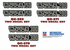QG-362 371 379 1978-85 DODGE TRUCK - POWER WAGON 150 or 200 or 300 - DECAL SET