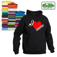 I LOVE LAUREN HOODIE LOST GIRL INSPIRED ALL SIZES CHOICE OF COLOURS