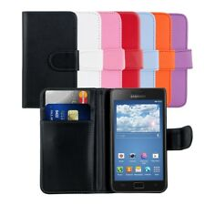 kwmobile WALLET LEATHER CASE FOR SAMSUNG GALAXY S2 I9100 / S2 PLUS I9105 PURSE