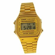 Casio retro watch A168WG-9 A168WA-1U A168W