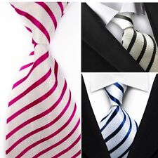 Mens' Silk Classic Wedding TIE Necktie Formal Casual Party Striped Neck Ties MR