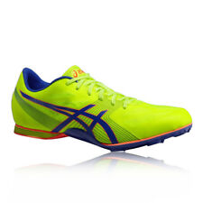 Asics Hyper MD 6 Unisex Yellow Running Spikes Trainers Pumps Sprint Shoes