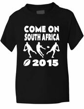 Rugby World Cup 2015 Kids T-Shirt South Africa Gift Present  Sizes 1-13 Years