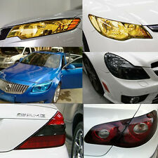 Auto Car Smoke Fog Light Headlight Taillight Tint Vinyl Film Sheet Sticker Hot