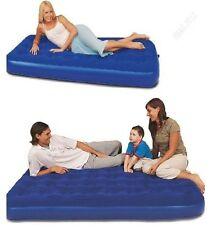 BESTWAY INFLATABLE BLOW UP FLOCKED CAMPING HOLIDAY TRAVEL GUEST AIR BED MATTRESS
