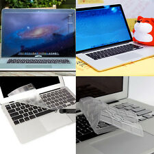 "New Clear TPU Keyboard Cover Skin for APPLE Macbook Pro /Retina 13"" 15""  Air 11"""