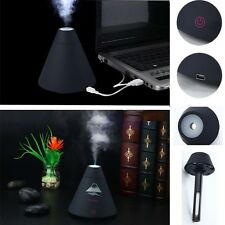 Volcano Humidifier Desktop USB Air Diffuser Purifier Atomizer LED Night Light