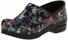 DANSKO PROFESSIONAL CLOG DAISY PATENT - MANY SIZES TO CHOOSE  New in Box