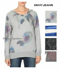 DKNYJEANS WOMENS HOODIE TUNIC pullover
