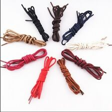 Buy 2 get 1 free,Round Waxed Lace Shoelace String for Leather Shoes Boot