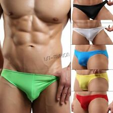 Mens Bikini Swimwear Swimsuit Beachwear Underwear Smooth & Thin Mini Swim Briefs