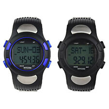 Fitness 3D Sport Pedometer Calories Counter Watch Pulse Heart Rate Monitor A