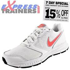Nike Womens Downshifter 6 Running Shoes Gym Fitness Trainers White AUTHENTIC