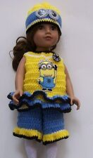 "HANDMADE CROCHET CLOTHING & ACCESSORIES FOR 18"" JOURNEY GIRL DOLLS, 8 YEARS +"