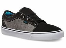 Vans CHUKKA LOW Mens Shoes NEW Reversed Denim ULTRACush SKATE FOOTWEAR Free Ship