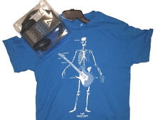 NEW! Audio Council (Size: Medium) Skeleton T-Shirt w/ Premier DJ Headphones