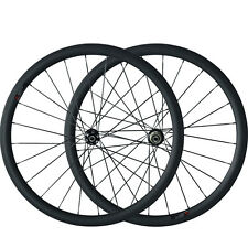 Disc Brake 38mm Carbon Clincher Tubular bike Wheelset Cyclocross Carbon Wheels