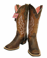 Ariat Women's Crossfire Caliente Weathered Brown Square Toe Boots