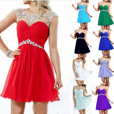 Short/Mini Formal Prom Dress Cocktail Ball Evening Party Dress Stock Size 6-16