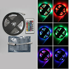 IP65 Waterproof 5M 300 LED 3528SMD RGB Strip Lights Lighting + Remote Controller