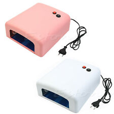 New Pro. 36W Nail Art UV Lamp Light Dryer 4 X 9W Salon Gel Curing Tube EU 220V