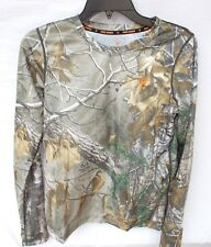 Boy's Realtree Xtra Camo 1.0 Base Layer Shirt Game Winner Youth Size 18-20 XL