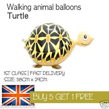 TURTLE WALKING PET BALLOON ANIMAL AIRWALKER BIRTHDAY KIDS FARM FUN
