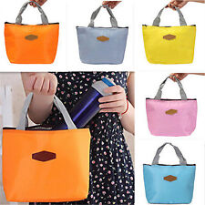 Portable Insulated Lunch Box Thermal Cooler Carry Tote Storage Bag Travel Picnic