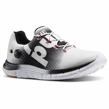 REEBOK Zpump Fusion Men's Running Shoes White /Black /Swag Orange M49951 Pumps
