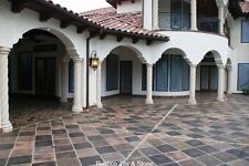 Manganese Saltillo Floor Tile Terra Cotta Clay Tiles Mexican Pavers Terracotta
