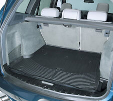Genuine BMW X5 All Weather Rubber Cargo Trunk Liner Mat 2007-2013 Black Grey E70