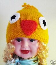Valego Sales Handmade Knitting Baby Infant Toddler Child ~ CHICK HAT Beanie #001