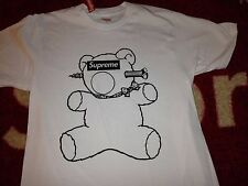 SUPREME 2015 S/S UNDERCOVER CDG BOX LOGO BEAR TEE S-XL WITCH WHITE PCL SHIRT