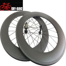 88mm Clincher carbon Fiber Road bike wheelset 700c carbon wheelset