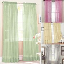 Hot Sale Room Door Window Curtain Drape Panel Scarf Assorted Scarf Sheer Voile