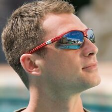 N-Specs Rival Silver Mirrored Lens Safety Glasses Each