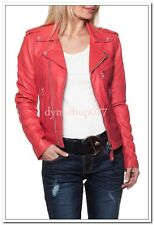 PREMIUM SOFT INDIAN LAMBSKIN WOMENS REAL LEATHER JACKET (ALL SIZE AVAILABLE)
