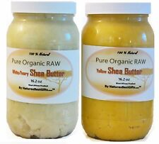 Raw Shea Butter Unrefined Organic Grade A  - 100% Pure African Ghana white/ivory