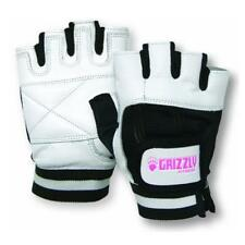 Grizzly Fitness Women's Grizzly Paws Lifting Gloves - White - Workout, Crossfit