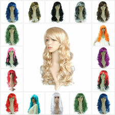 "Fashion Women Ladies 19.7""Long Curly Cosplay/Costume/Party Full Wig Wigs Colors"