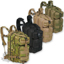 SMALL MOLLE ASSAULT MILITARY RUCKSACK PATROL BACKPACK 28 LITRE AIRSOFT AMMO ARMY