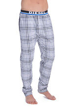 Diesel Derik Cotton Plaid Lounge Pants UMLB 00CG47OBACR
