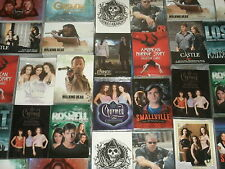 TV Series Trading Cards: Walking Dead,Charmed,Smallville,Grimm,American Horror