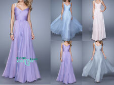 Chiffon Evening Formal Party Cocktail Ball Gown Prom Dresses Bridesmaid Dress