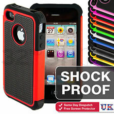 SHOCK PROOF CASE COVER FOR APPLE iPhone 4 5 6 6 PLUS iPod touch 4 5 Free Film