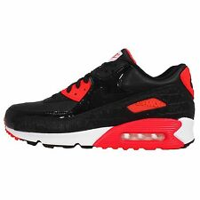 Nike Air Max 90 Anniversary Black Croc Infrared Mens Running Shoes NSW Sneakers