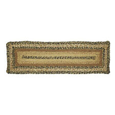 Kettle Grove Braided Jute Stair Tread Set - Rectangle Stair Treads by VHC Brands