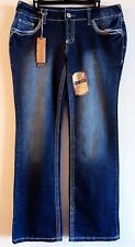 NWT Amethyst VANNA Low Rise Slim Boot Womens Plus Size Jeans