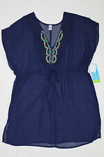 NEW WOMENS TROPICAL ESCAPE BEADED SWIMSUIT COVER UP VARIOUS SIZES & COLORS