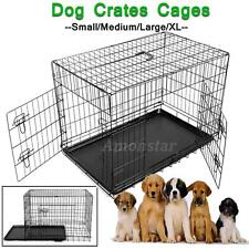 Hundekäfig Transportkäfig Transportbox Drahtkäfig Hundebox Metal Dog Crates Cage